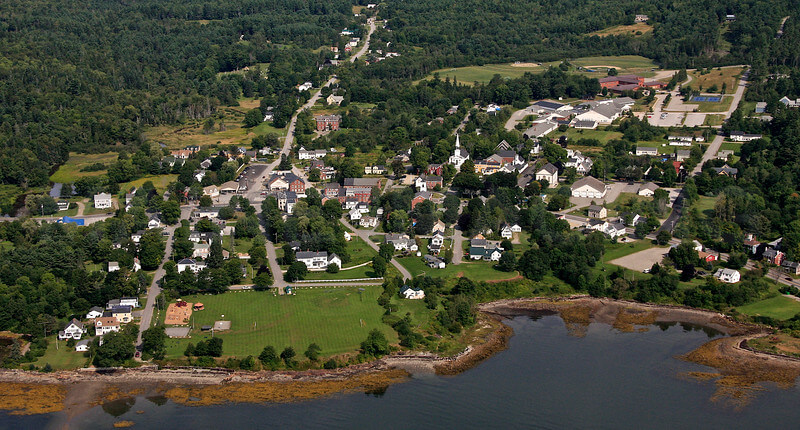 Searsport Aerial Photo